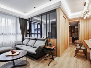 Ruang Keluarga Modern Oleh 安提阿設計有限公司 Modern