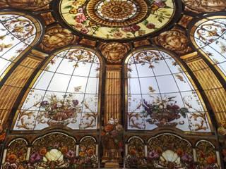 Dôme en vitrail par France Vitrail International Classique