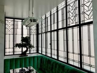 Appartement parisien, créations sur mesure par France Vitrail International Moderne
