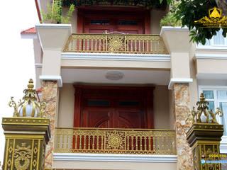 Công trình nhôm đúc Biên Hòa:  Biệt thự by ANH NHẬT PHÁT