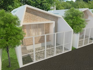 HS House TIES Design & Build Rumah Minimalis