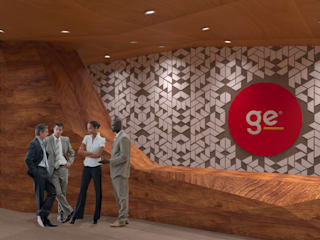 GE Concept Store TIES Design & Build Ruang Komersial Modern