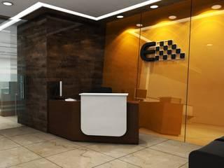 Minimalist corridor, hallway & stairs by Shilpshala Minimalist