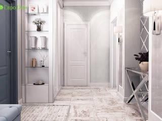 ЕвроДом Pasillos, vestíbulos y escaleras de estilo ecléctico