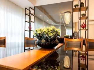 Conceito Clean Salas de jantar modernas por Traço design interiores Moderno