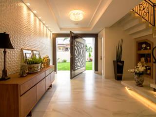Um charme acolhedor Salas de estar modernas por Traço design interiores Moderno
