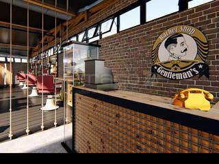 Traço M - Arquitectura Espaces commerciaux industriels