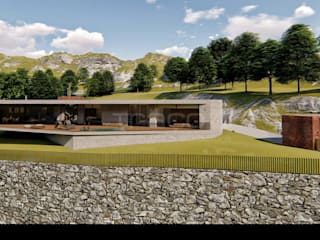 Traço M - Arquitectura Villa Béton