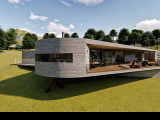 Traço M - Arquitectura Maisons scandinaves Béton