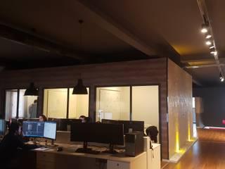 ZERART MİMARLIK  – izmir Serbest Bölge Yazılım Ofisi Dekorasyonu : modern tarz , Modern