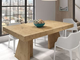 Decordesign Interiores Dining roomTables Chipboard Wood effect