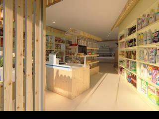 Traço M - Arquitectura Locaux commerciaux & Magasin ruraux Bois
