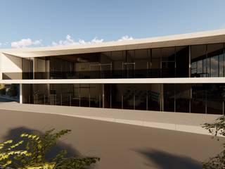 Traço M - Arquitectura Maisons modernes Béton
