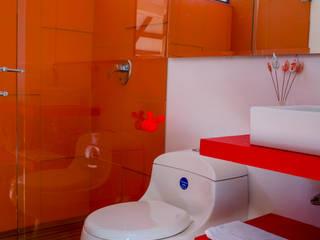 Baños de estilo rural de Camacho Estudio de Arquitectura Rural