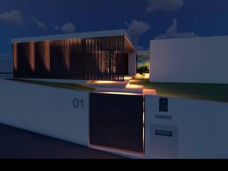 """Casa """"AP"""": Casas  por Traço M - Arquitectura,Moderno"""