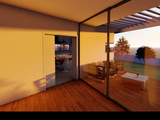 """Casa """"AP"""": Salas de jantar  por Traço M - Arquitectura,Moderno"""