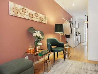 에클레틱 거실 by Rafaela Fraga Brás Design de Interiores & Homestyling 에클레틱 (Eclectic)