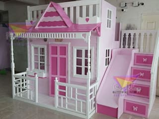 Preciosa Casita Celestial: Habitaciones infantiles de estilo  por camas y literas infantiles kids world