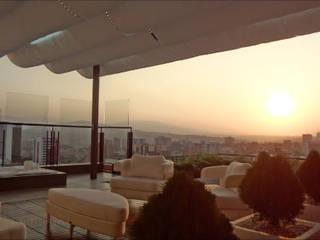 Remodelación de Terraza en Barquisimeto Balcones y terrazas de estilo tropical de AUTANA estudio Tropical