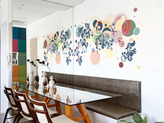 Dining room by INSIDE ARQUITETURA E DESIGN, Eclectic