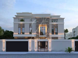 Modern Classic House Design:  Villas by Comelite Architecture, Structure and Interior Design