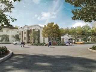 Mehrfamilienhaus von Yantram Architectural Design Studio