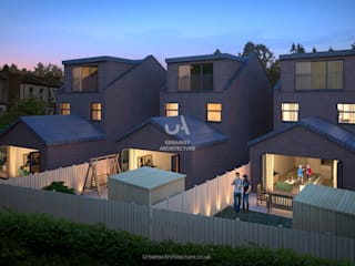 Bromley New Builds Urbanist Architecture Casa unifamiliare Laterizio Marrone