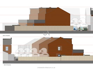 Bromley New Builds Urbanist Architecture Single family home Bricks Brown