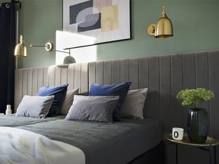 Apartament Trójmiasto Nowoczesna sypialnia od Studio LOKO Sp. z o.o. Sp. k. Nowoczesny