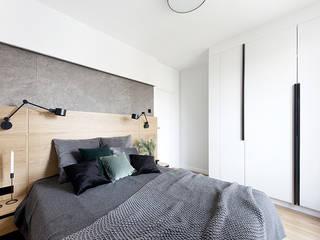 Apartament Gdańsk Nowoczesna sypialnia od Studio LOKO Sp. z o.o. Sp. k. Nowoczesny