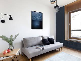 Apartament Gdańsk Nowoczesny salon od Studio LOKO Sp. z o.o. Sp. k. Nowoczesny