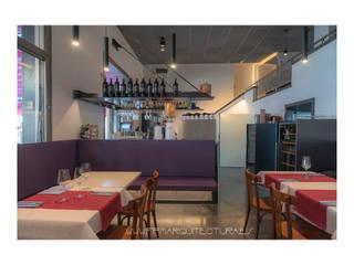 Restaurante Síntesis Gastronomía de estilo moderno de FPM Arquitectura Moderno