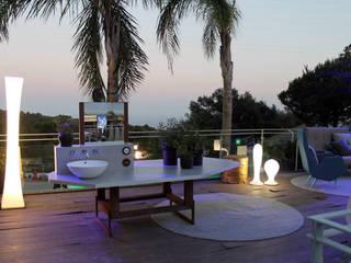 BARASONA Diseño y Comunicacion Balcones y terrazas de estilo moderno