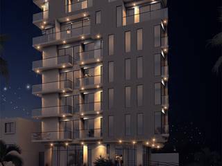 EDIFICIO RESIDENCIAL VARII 360:  de estilo  por Studio 1:1 Arquitectura ,
