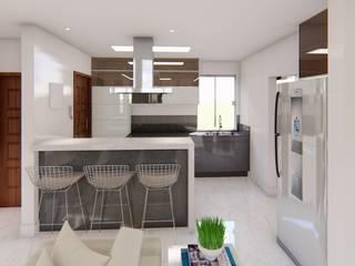 Apartamento Moderno por Fark Moderno