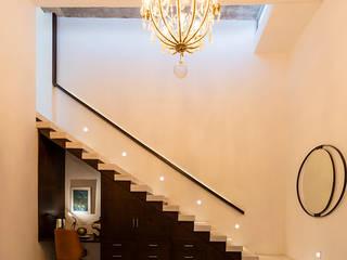 Taller Estilo Arquitectura Escaleras Hormigón Blanco