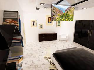 Маленькие спальни в . Автор – Royal Interior México, Модерн