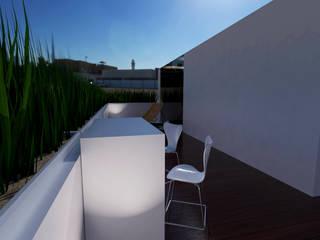 Terrace by Royal Interior México, Modern