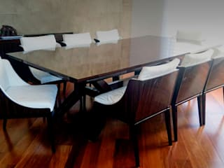 Modern dining room by ARQUITECTURA Y DISEÑO CB Modern