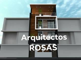 by Crearq-Arquitecto C.ROSAS Мінімалістичний
