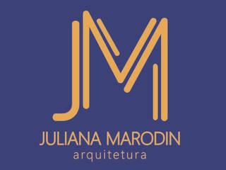 Juliana Marodin Arquitetura Salas de estar ecléticas por Juliana Marodin Eclético