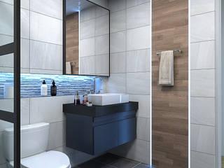 스케치업을 이용한 투시도 모던스타일 욕실 by CG파트너 모던