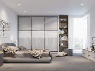 Sliding Door Wardrobes: modern  by Metro Wardrobes London, Modern