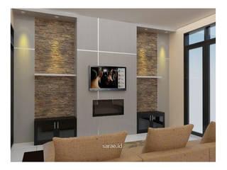 SARAÈ Interior Design SoggiornoAccessori & Decorazioni Compensato Grigio