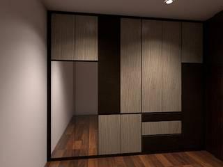 Wardrobe Modern style dressing rooms by Grandlim interior design & renovation Modern