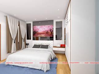 Thiết kế phòng ngủ nhà ống bởi Nội thất Nguyễn Kim