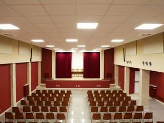 Riqualificazione sala conferenze - Via Marghera Roma di Finchamp Costruzioni S.r.l.