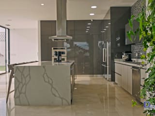 Decoralvarez Dapur built in Chipboard Grey