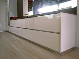 Decoralvarez Dapur built in Chipboard White