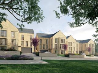 Brook View Modern houses by CODA Bespoke Modern